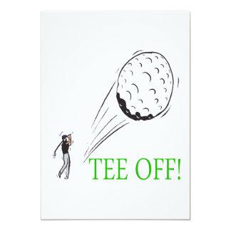 Tee Off Card