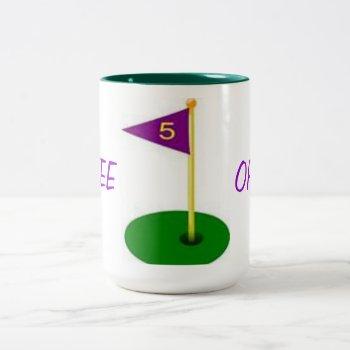 Tee Off Custom Golf Mug by creativeconceptss at Zazzle