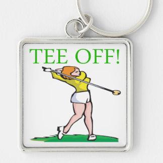 Tee Off Keychain
