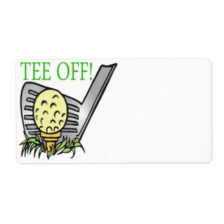 Tee Off Label