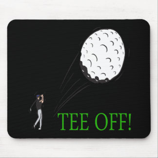 Tee Off Mouse Pads