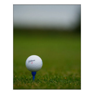Tee off poster