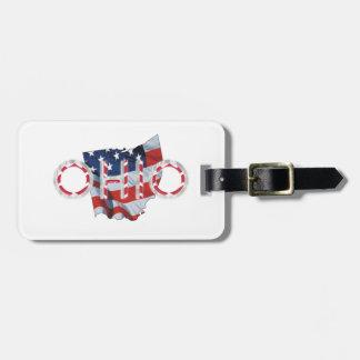 TEE Ohio Patriot Luggage Tag