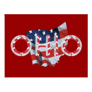 TEE Ohio Patriot Postcard