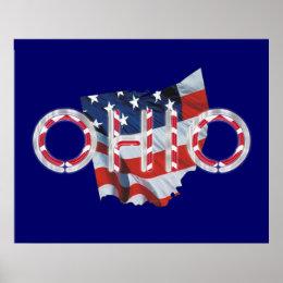 TEE Ohio Patriot Poster