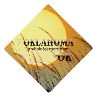 TEE Oklahoma Graduation Cap Topper