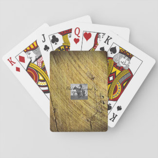 TEE Old Fashioned Cowgirl Playing Cards