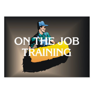 TEE On The Job Training Business Cards