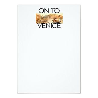 TEE On To Venice Card