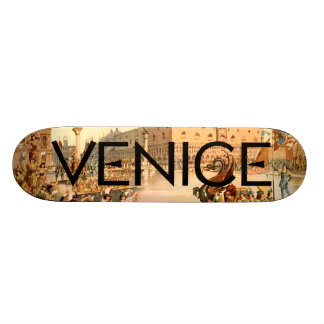 TEE On To Venice Custom Skate Board