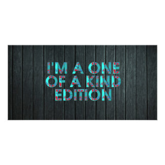"TEE One of a Kind 8"" x 4"" Photo Card"