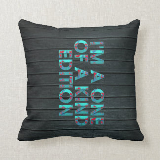TEE One of a Kind Edition Throw Pillow