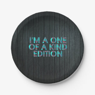 TEE One of a Kind Paper Plate