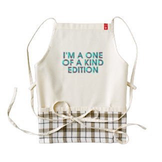 TEE One of a Kind Zazzle HEART Apron