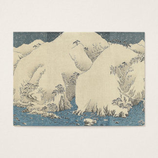 TEE Orient Snow Business Card