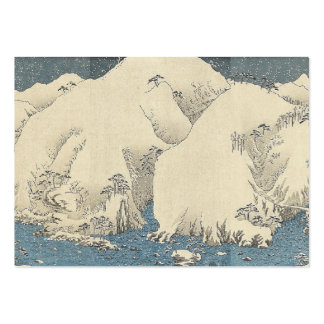 TEE Orient Snow Large Business Cards (Pack Of 100)