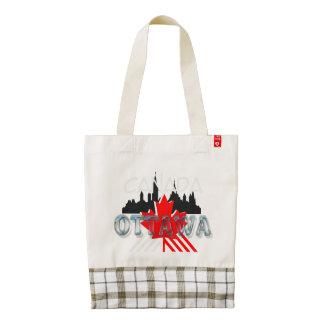 TEE Ottawa Zazzle HEART Tote Bag