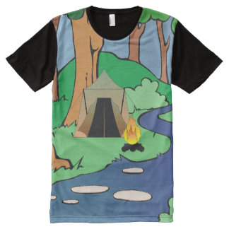 TEE Outdoors Bound All-Over Print T-shirt