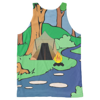 TEE Outdoors Bound All-Over Print Tank Top