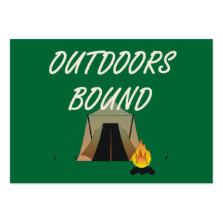 TEE Outdoors Bound Large Business Cards (Pack Of 100)