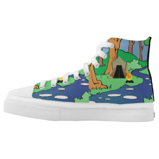 TEE Outdoors Bound High-Top Sneakers