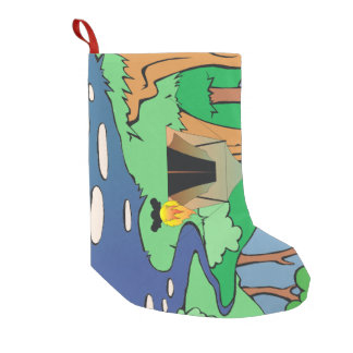 TEE Outdoors Bound Small Christmas Stocking