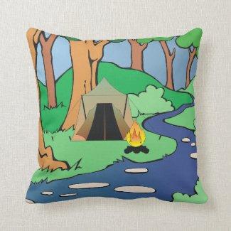 TEE Outdoors Bound Throw Pillow