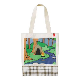 TEE Outdoors Bound Zazzle HEART Tote Bag