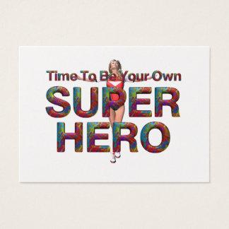 TEE Own Superhero Business Card
