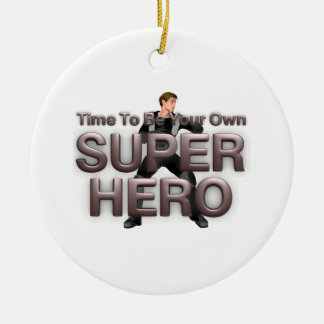 TEE Own Superhero Christmas Tree Ornament