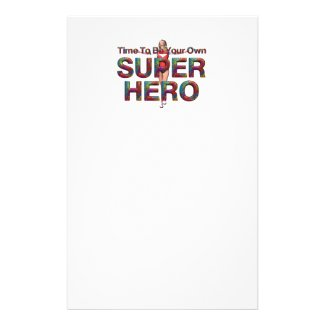 TEE Own Superhero Stationery
