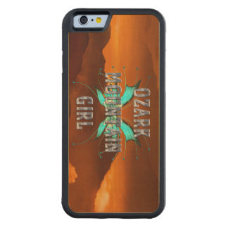 TEE Ozark Mountain Girl Carved® Maple iPhone 6 Bumper