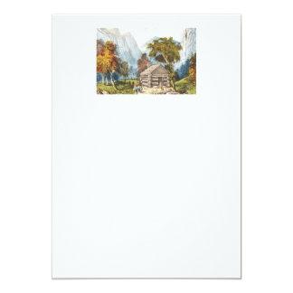 TEE Paradise Camp 5x7 Paper Invitation Card