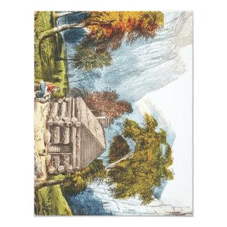 TEE Paradise Camp 4.25x5.5 Paper Invitation Card