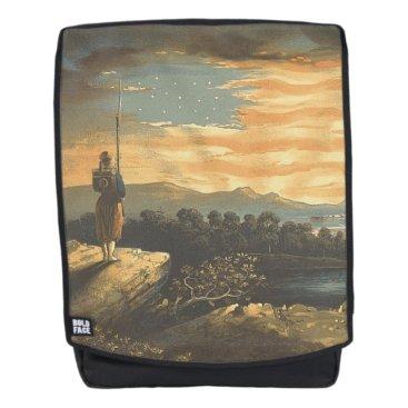 USA Themed TEE Patriotic Sky Backpack
