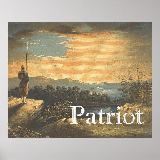 TEE Patriotic Sky Print