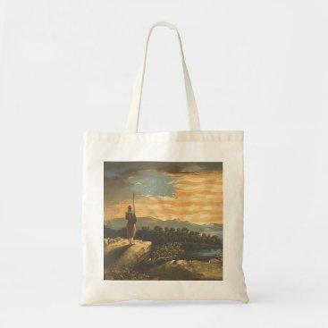 USA Themed TEE Patriotic Sky Tote Bag