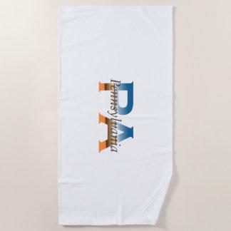 TEE Pennsylvania Beach Towel