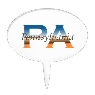 TEE Pennsylvania Cake Topper