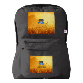 TEE Pickup Slogan Backpack