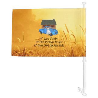 TEE Pickup Slogan Car Flag