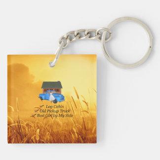 TEE Pickup Slogan Keychain