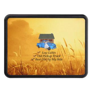 TEE Pickup Slogan Trailer Hitch Cover