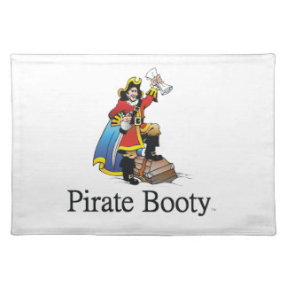 TEE Pirate Booty Cloth Placemat