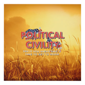TEE Political Civility Panel Wall Art