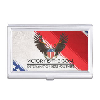 TEE Political Victory Slogan Business Card Holders