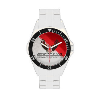 TEE Political Victory Slogan Wristwatches