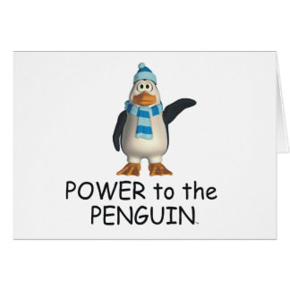 TEE Power to the Penguin Card