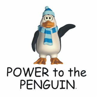 TEE Power to the Penguin Cutout