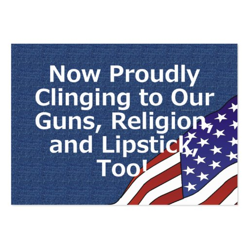 TEE Proud American Business Card